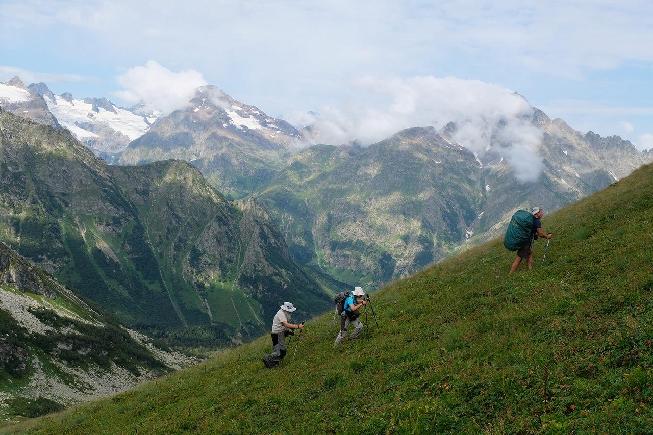 Trekking in Karachai mountains