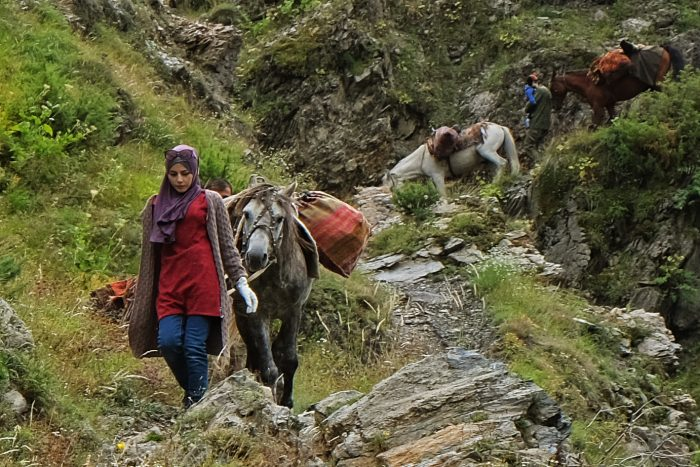 Trekking to Kusur village in Dagestan